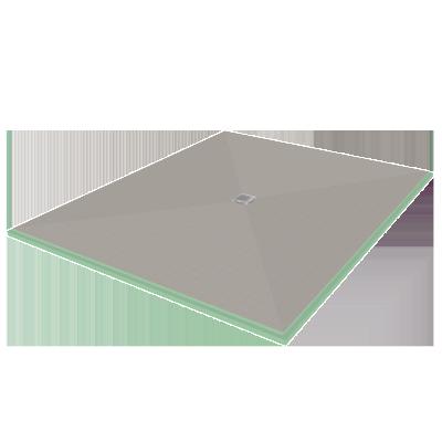 Waterproof Presloped 60″ x 72″ Shower Pan/Shower base | HYDRO BLOK