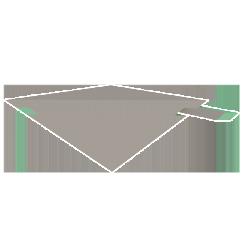 Large Diamond Bench