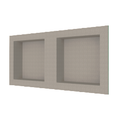 "32"" x 16"" Recessed Double Wide Shower Niche"
