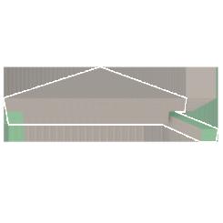 Medium Suspended Bench